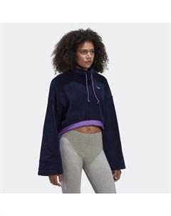 Укороченный флисовый свитшот Originals Adidas
