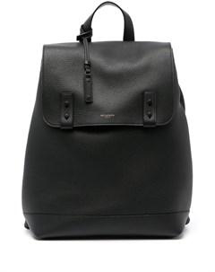 Рюкзак из зернистой кожи Saint laurent
