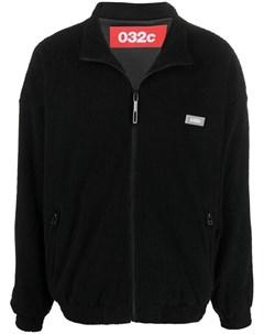 Спортивная куртка с нашивкой логотипом 032c