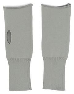 Перчатки митенки с прорезями Jil sander