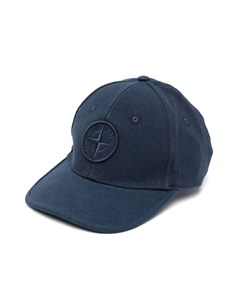 Бейсболка с вышитым логотипом Stone island junior