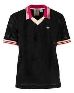 Сетчатая рубашка поло из коллаборации с Wales Bonner Adidas