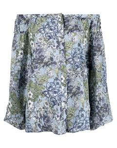 Блузка с цветочным принтом Gold hawk
