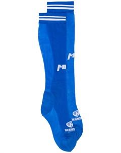 Носки с жаккардовым логотипом Martine rose