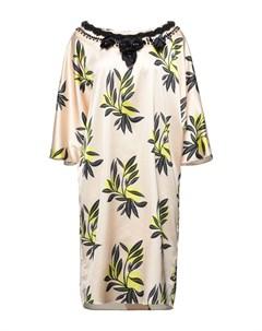 Платье до колена Twins beach couture