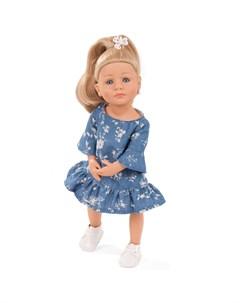 Кукла Лотта идет на йогу блондинка 36 см Gotz