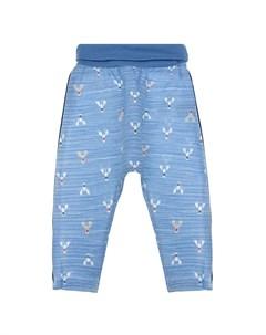 Синие спортивные брюки с принтом раки детские Sanetta fiftyseven