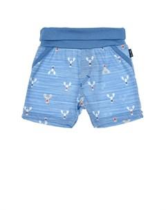 Синие шорты с принтом раки детские Sanetta fiftyseven