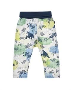 Спортивные брюки с тропическим принтом детские Sanetta kidswear