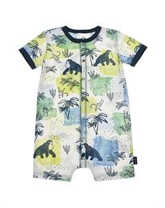Песочник с тропическим принтом детский Sanetta kidswear