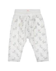 Спортивные брюки с принтом в горошек детские Sanetta fiftyseven
