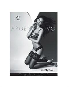 Чулки Mirage 20 Cognac 3 Argentovivo
