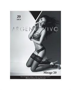 Чулки Mirage 20 Nero 3 Argentovivo
