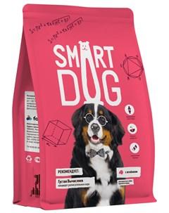 Для взрослых собак крупных пород с ягненком 18 кг Smart dog