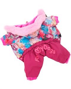 Комбинезон для собак розовый для девочек Fw697 2019 F 18 For my dogs