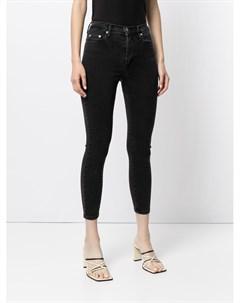 Укороченные джинсы скинни Cult Nobody denim