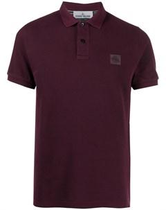 Рубашка поло с логотипом Stone island