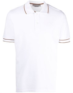 Рубашка поло с вышитым логотипом Corneliani