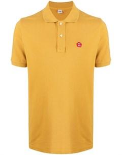 Рубашка поло с вышитым логотипом Aspesi