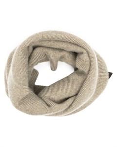 Трикотажный шарф снуд pre owned Louis vuitton