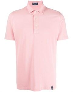 Рубашка поло с нашивкой логотипом Drumohr