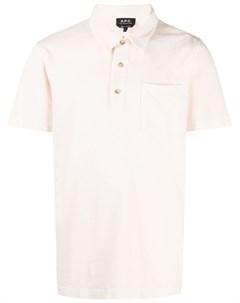 Рубашка поло с нагрудным карманом A.p.c.