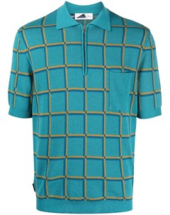 Клетчатая рубашка поло с короткими рукавами Anglozine
