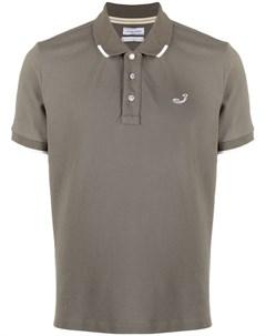 Рубашка поло с вышитым логотипом Jacob cohen
