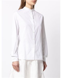 Поплиновая рубашка с воротником стойкой Martin grant