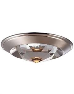 Встраиваемый точечный светильник glam Novotech