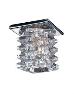 Встраиваемый точечный светильник crystal Novotech