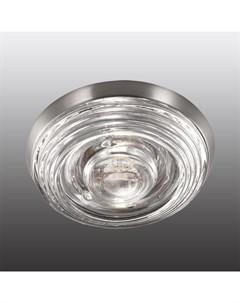 Встраиваемый точечный светильник с защитным стеклом aqua Novotech