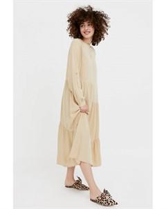 Платье с асимметричными воланами Finn flare