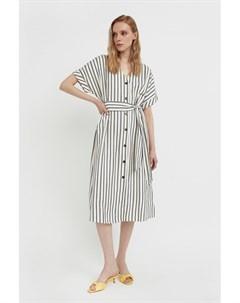 Платье рубашка с геометричным принтом Finn flare