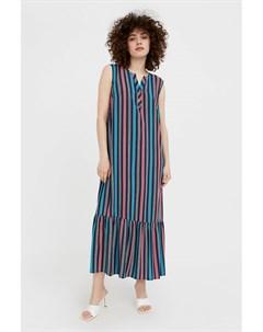 Полосатое платье с воланами Finn flare