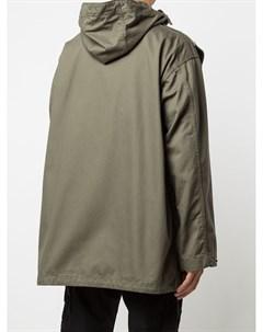 Куртка Sonor асимметричного кроя с капюшоном Engineered garments
