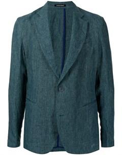 Однобортный пиджак Emporio armani
