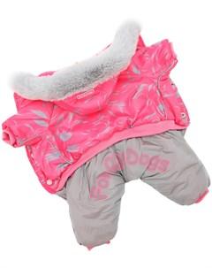 Комбинезон для собак розовый для девочек Fw698 2019 F 14 For my dogs