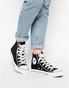 Высокие черные кроссовки Chuck Taylor All Star Черный Converse