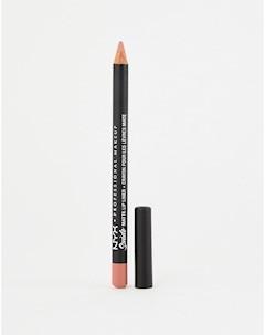 Матовая подводка для губ Suede Dainty Daze Розовый Nyx professional makeup