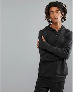 Худи черного цвета с короткой молнией ONeill Activewear Force Черный O`neill