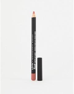 Матовая подводка для губ Brunch Me Розовый Nyx professional makeup