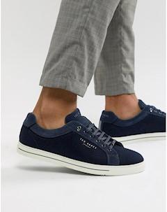 Темно синие кроссовки Синий Ted baker london