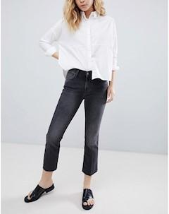 Укороченные расклешенные джинсы Bethnals Tilly Черный