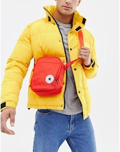 Красная сумка через плечо с нашивкой Chuck Taylor Красный Converse