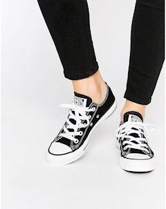 Черные кроссовки Chuck Taylor All Star Core Ox Черный Converse