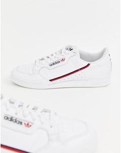 Белые кроссовки Continental 80 G27706 Белый Adidas originals