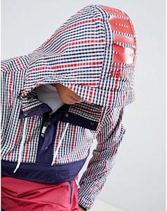 Красная куртка в клетку Kidda By Christopher shannon