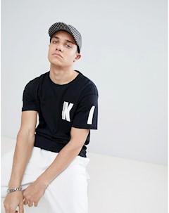 Черная футболка Kidda By K Christopher shannon