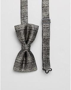 Золотистый галстук бабочка Twisted tailor